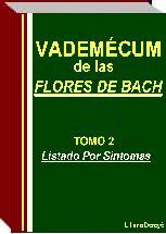 Vademécum Flores de Bach 3000 síntomas